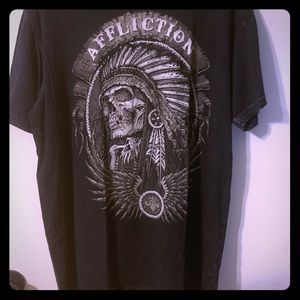 Affliction shirt